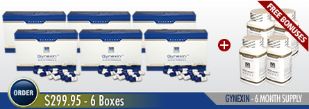 Order Gynexin Male Breast Reduction - 6 bottles